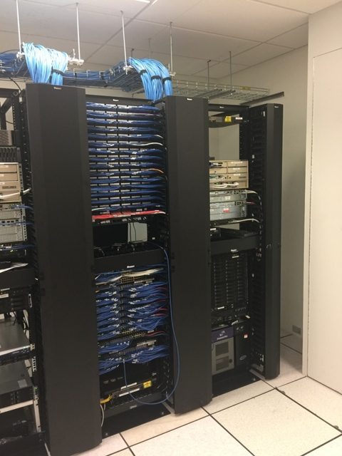 Server Room for Grocery Chain Head Office