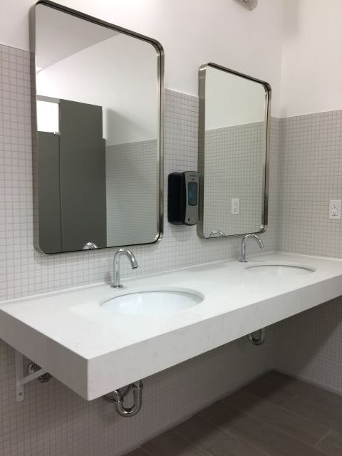 Chapters Polo Park Washroom Renovations